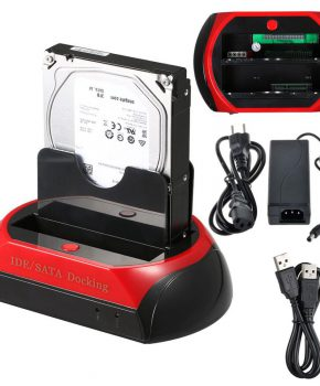 Universeel dockingstation - One Touch Backup - rood