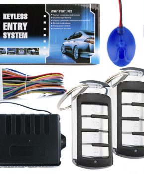 Universeel centrale autodeurslot controller NQ-ST9003 -2 x afstandsbediening