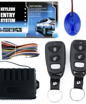 Universeel centrale autodeurslot controller NQ-5001 -2 x afstandsbediening