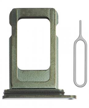 Voor iPhone 11 PRO / 11 PRO MAX single simkaart houder - Groen