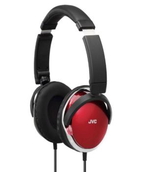 JVC HA-S660-W-E bedrade On-Ear koptelefoon - rood