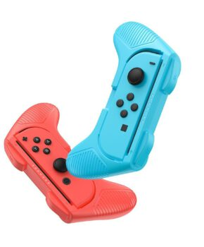 2x set handgreep voor Joy-Con joystick pad - Switch rood/ blauw