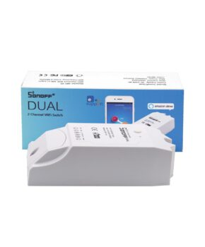 Sonoff DUAL R2 tweekanaals Wi-Fi Smart Switch wit