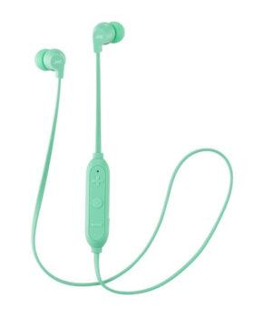 Kleurrijke draadloze bluetooth oordopjes HA-FX21BT-WE - mintgroen