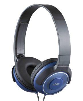 JVC HA-S220AE On-ear hoofdtelefoon Deep Bass - Blauw