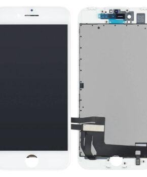 Voor iPhone 8 Plus LCD Scherm wit - met 16-delig professionele reparatiekit
