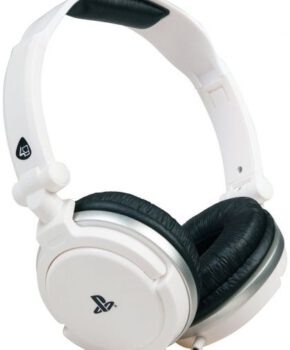 4Gamers Stereo Gaming Headset Pro4-10 - PS4 & Vita- wit
