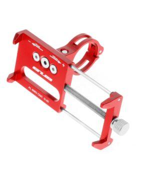 GUB G85 Fietshouder mobiele telefoon - Metaal - rood