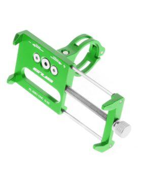 GUB G85 Metalen fietshouder voor mobiele telefoon - groen
