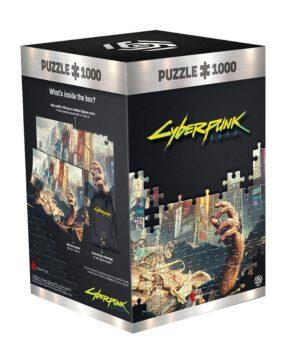 Cyberpunk 2077: Hand 1000 darabos puzzle - 1000 stukjes