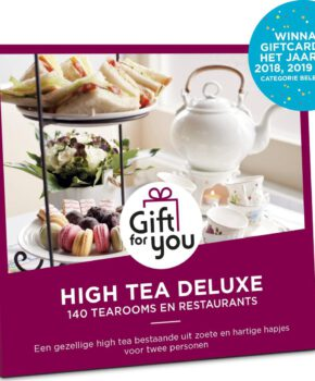 GiftForYou Cadeaubon - High Tea Deluxe - 3 jaar geldig