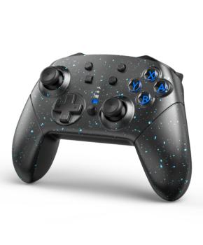 Bluetooth controller geschikt voor Nintendo Switch Pro & PC - spikkels
