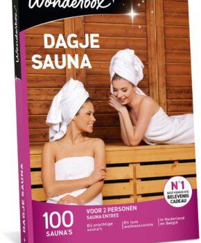 Wonderbox Cadeaubon - Dagje Sauna - 3 jaar geldig