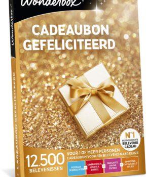 Wonderbox  Cadeaubon - Gefeliciteerd! - 3 jaar geldig