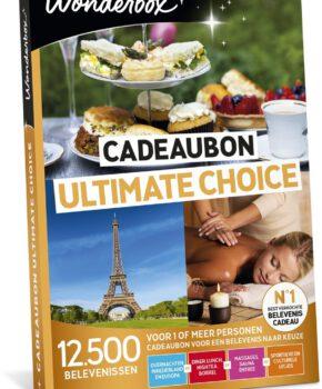 Wonderbox Cadeaubon Ultimate Choice - 3 jaar geldig