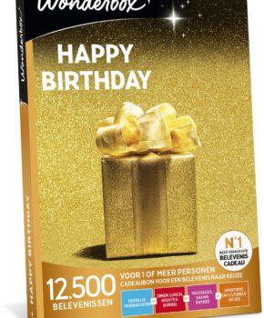 Wonderbox Cadeaubon - Happy Birthday - 3 jaar geldig