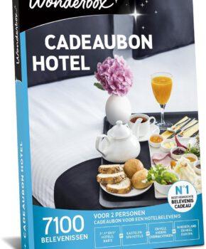 Wonderbox Cadeaubon - Hotel - 3 jaar en 3 maanden geldig