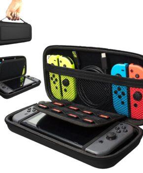 Voor NINTENDO Switch Compatible Console etui - zwart
