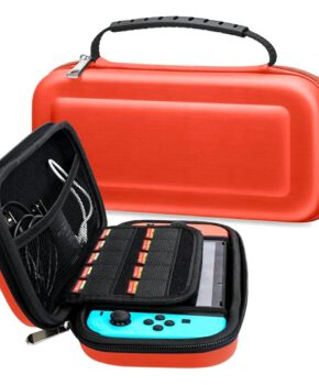 Voor NINTENDO Switch Compatible Console etui - rood