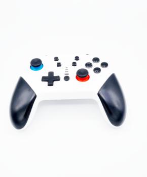 Bluetooth controller geschikt voor Nintendo Switch Pro & PC - Wit