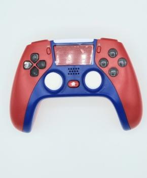 draadloze controller - duo vibra  geschikt voor Playstation 4 -rood / blauw