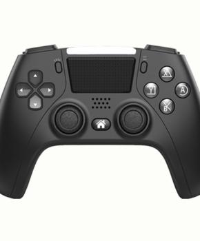 draadloze controller - duo vibra  geschikt voor Playstation 4 - zwart / wit