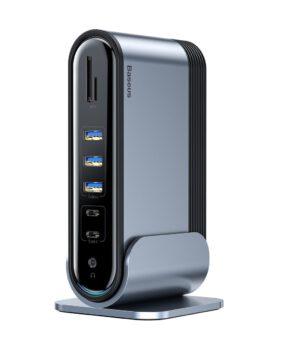 Baseus 17 in 1 USB-C Triple Display Hub Docking Station-adapter