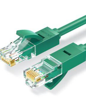 Ugreen Ethernet patchkabel RJ45 Cat 6 UTP 1000Mbps 1 m groen