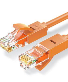 Ugreen Ethernet patchkabel RJ45 Cat 6 UTP 1000Mbps 2 m oranje