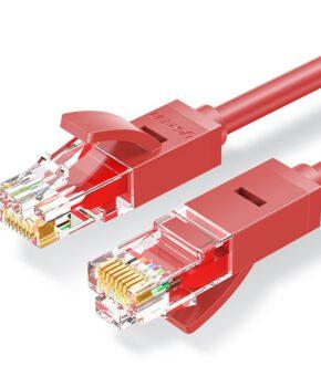 Ugreen Ethernet patchkabel RJ45 Cat 6 UTP 1000Mbps 2 m rood