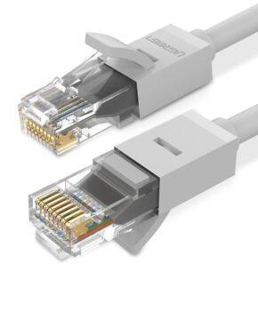 Ugreen Ethernet patchkabel RJ45 Cat 6 UTP 1000Mbps 1 m grijs